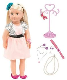 01b9ce0c05b477 Delight your little one with this fashion doll from Our Generation perfect  for kids 3 years and up interested in fashion and beauty.