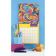 2013 Dylan's Candy Bar Wall Calendar | Lifeguard Press  So colorful that I wouldn't be able to wait until the next month to see the upcoming design and colors!