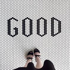 Our Favorite Floors: 25 Reasons to Look Down – Design*Sponge Hex Tile, Penny Tile, Hexagon Tiles, Mosaic Tiles, Mosaic Floors, Cement Tiles, Wall Tiles, Floor Patterns, Tile Patterns