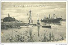 Le port de Couëron sur la basse-Loire