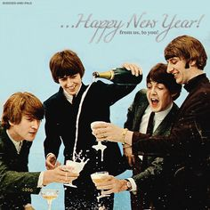 The Beatles.. Happy New Year!