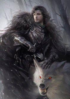 Ladies and gentlemen , Jon Snow drawing (G-host Lee)