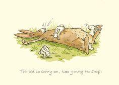 Too Old to Carry On, Too Young to Stop Talented Anita Jerham character design illustration rabbit kanin hare Anita Jeram, Rabbit Art, Bunny Art, Funny Bunnies, Beatrix Potter, Children's Book Illustration, Cute Drawings, Cute Cartoon, Cute Art