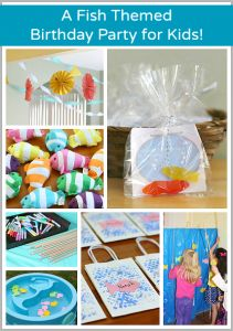 A Fish Themed Birthday Party! ~ Buggy and Buddy