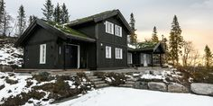 Rognli oppstue – Telemarkhytter Home Fashion, House Ideas, House Styles, Teen Wolf, Cabins, Cottages, Home Decor, Lily, Modern