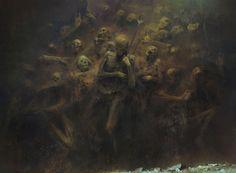 ArtStation - Moaning Wall / MTG, Piotr Jabłoński