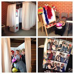 Birthday fun!  #photoboothhiremelbourne #quirkyphotobooths