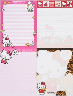 Hello Kitty Letter Set with sticker from Japan 2