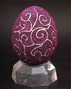 Real egg decorations