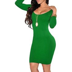 3/4 Crewneck Bodycon Mini Evening Dress