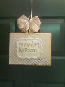 plaquede porte de ramadan