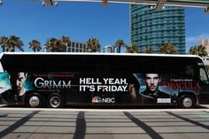 Hell Yeah It's Friday buses in San Diego.