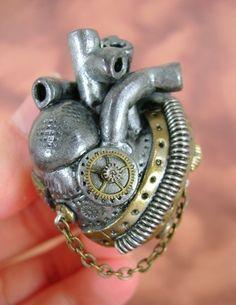 Steampunk Heart .... genial