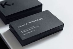 The best business card designs of the month! Fresh inspiration for everyone :)