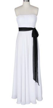 Strapless Long Pleated Bust Sash Formal Wedding Dress. Strapless Long Pleated Bust Sash Formal Wedding Dress on Tradesy Weddings (formerly Recycled Bride), the world's largest wedding marketplace. Price $65.00...Could You Get it For Less? Click Now to Find Out!