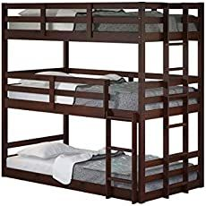 Triple Bunk Hack Mydal Bunkbeds Ikea Hackers Bunk Beds Triple Bunk Bed Bunk Beds With Storage