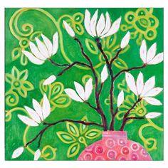 Lámina Green Magnolia de Mariska Meijers, 45x45cm
