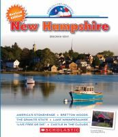 Explores the land, people, history, economy, and travel opportunities of the state of New Hampshire.