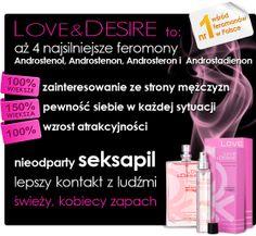 Feromony kobiece Love & Desire > Infografika
