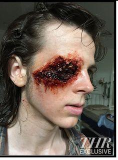 bts of the Walking Dead