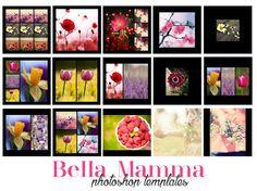 Photoshop Template - Collage Photo Album di BellaMamma.net