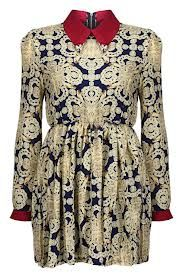 Shop Baroque Print Dress at ROMWE, discover more fashion styles online. Dress Backs, Dress P, Baroque Dress, Latest Street Fashion, Brown Dress, Lovely Dresses, Abstract Print, Cute Outfits, Street Style