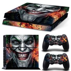 Premium PVC Skin Sticker For Ps4 Console And Controller. High quality vinyl sticker for ps4 Covers front side, left side, right side and 2 remote controllers. Digitally designed and cut for a guarante