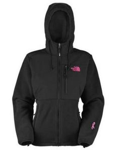 a famous jacket brand with great quality and comfort,discount! 2013 North Face Pink Ribbon Denali Hoodie Jacket Black