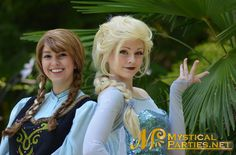 Everyone loves Frozen from children to adults! You can choose Elsa and Anna Frozen lookalike characters for parties and even singing telegrams. Frozen Princess Party, Frozen Party, Princess Birthday, 50 Party, Party Characters, Fulton County, Anna Frozen, Superhero Party, 5 Hours