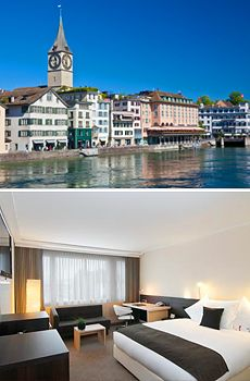ab 255 € -- 3 Tage Zürich im Sommer mit 4*-Hotel und Flug
