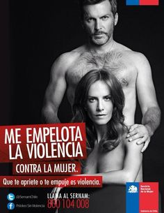Against violence towards women. Chile.