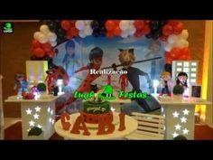 Decoração festa Miraculous Ladybug e Cat Noir - Aniversário infantil -  Festa Infantil Lugh