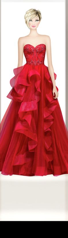 Strapless Dress Formal, Formal Dresses, Eminem, Covet Fashion, Fashion Sketches, Ball Gowns, Barbie, My Style, Anime