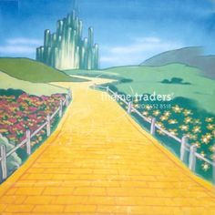 Wizard of Oz Backdrops props - prophire - Books - BDW0169