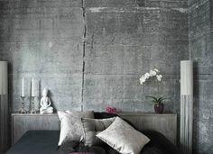 Wandfarbe+mit+Betonoptik+-+Wände+aus+Beton