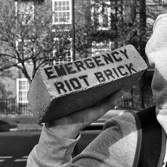 https://flic.kr/p/Gop68X | Emergency Riot Brick