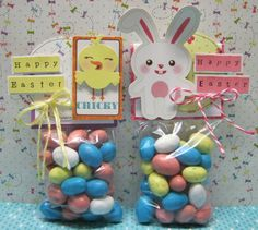 Easter treat bag toppers - Scrapbook.com