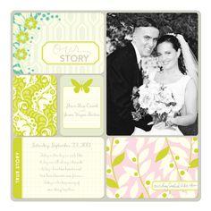 Project Life Wedding Album Layout