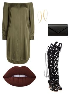 """Wed style"" by emiloveboutique on Polyvore featuring DKNY, Sophia Webster, Lana and Balenciaga"