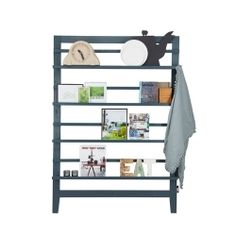 vtwonen Magazine Rack. €89,95 / $109.10 Height 170 x Width 120 x Depth 10 cm #magazine #rack #storage #decoration #vtwonen