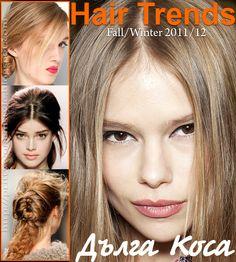 long hair trends