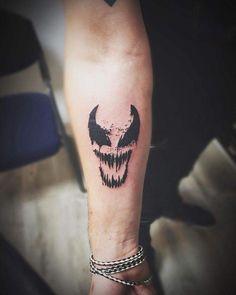 Somos Venom tattooaftercarecompany tattoo tatuaje venom art forearmtattoo ink inked inkedboy black is part of Funny Dog tattoos Life - Funny Dog tattoos Life Marvel Tattoo Sleeve, Marvel Tattoos, Sleeve Tattoos, Tattoo Sleeves, Forarm Tattoos, Body Art Tattoos, Tatoos, Creepy Tattoos, Cool Tattoos
