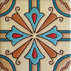 TILES AND TILES...Mexican Tiles Handcrafted High Relief rdc 49