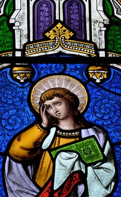 Turkdean All Saints East window possibly 1859 by Thomas Willement -65