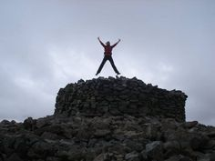 The summit of Sca Fell Pike - the highest peak back in my home-land...still wearing the same boots! by Hayley Dargue Jones