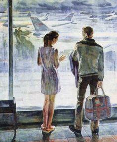 Кучеров Александр Александрович (1936). «Пути-дороги». Начало 1970-х годов.: