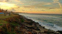 Playa detrás del parque en La Marginal de Arecibo