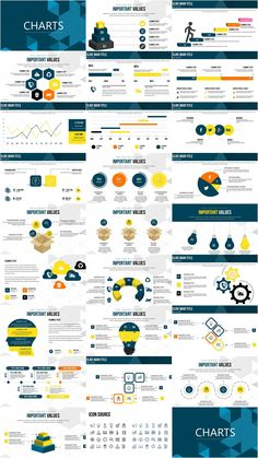 Unique Creative Ideas PowerPoint charts - Presentation with Color Full Variations, Custom Animated effects, . Powerpoint Chart Templates, Infographic Powerpoint, Powerpoint Presentation Templates, Flyer Template, Creative Crafts, Creative Ideas, Chart Design, Booklet Design, Ppt Design