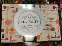 Fun and colorful placemats