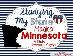 If you are interested in this product for ANY STATE, please check out this product:State History Research Project{any state}For Quick Updates...Follow me on Instagram!Follow me on Pinterest!Check out my Blog!This interactive, printable booklet is a fun way for your students to study the state of Minnesota.